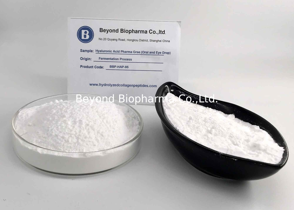 Pharma Grade Hyaluronic Acid Powder For Ophthalmic Surgery Of Eye Health