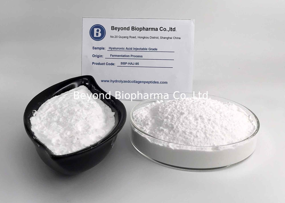 Bacteria Fermentation Hyaluronic Acid Powder For Injection Production